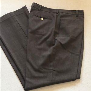 Calvin Klein modern fit trouser pant in brown